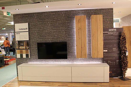 Wohnkombination Hulsta Gentis Wohnen Wohnzimmer Haus Design