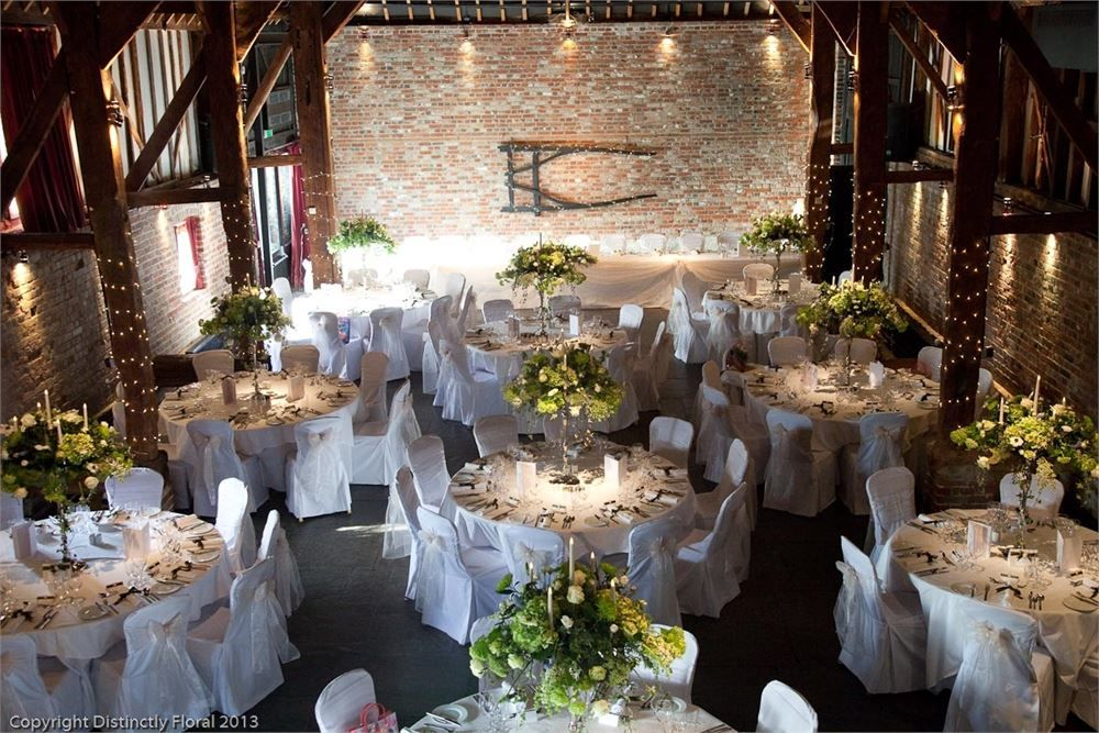 Love This Flower Display At Cooling Castle Barn Pinterest Wedding Venues And Centrepieces