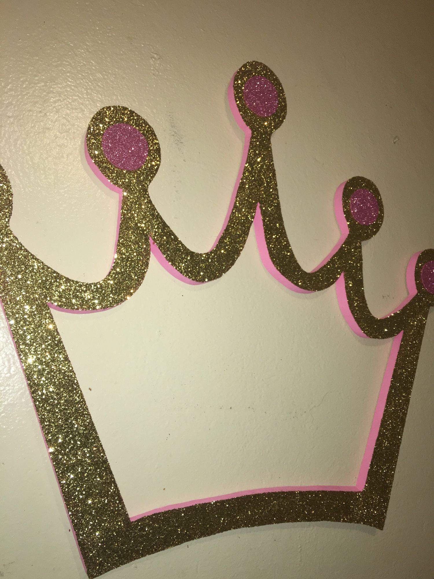 Gold And Pink Crown Photobooth Frame Birthday In 2018 Pinterest