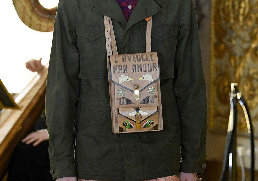 1db574721502 Gucci Debuts New Shoulder Bag Styles and More at Its Cruise 2018 Runway Show