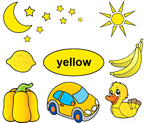 Color Yellow Worksheets for Kindergarten | Kindergarten ...