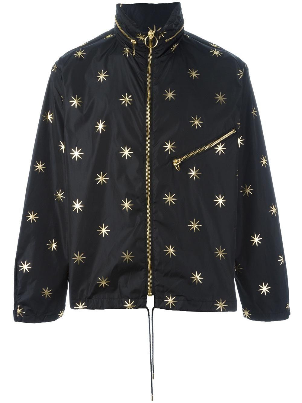 Palm Angels Stars Studded Jacket Studded Jacket Jackets Mens Lightweight Jacket [ 1334 x 1000 Pixel ]