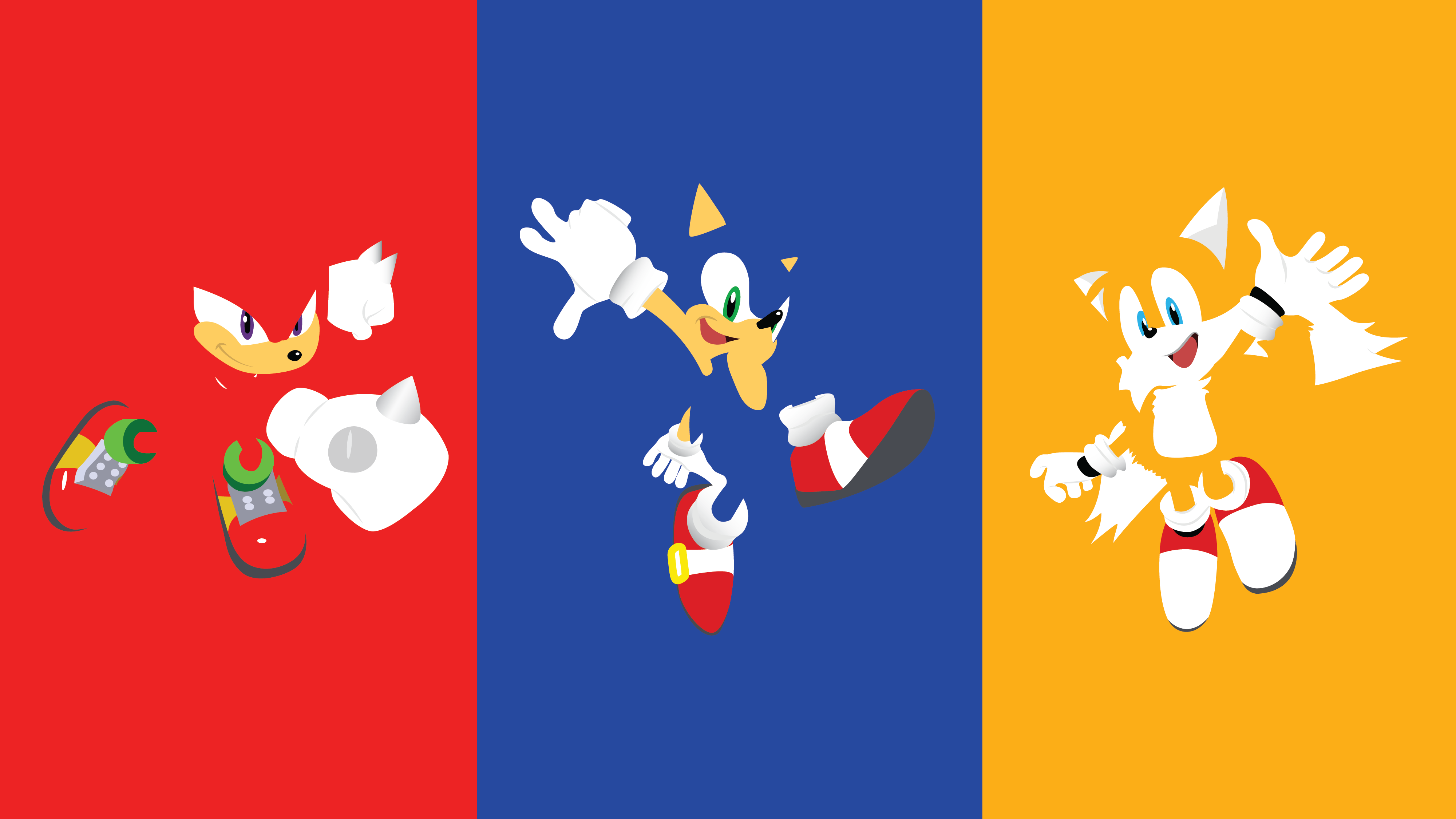 minimalistic-sonic-wallpaper-by | Sonic The Hedgehog ...