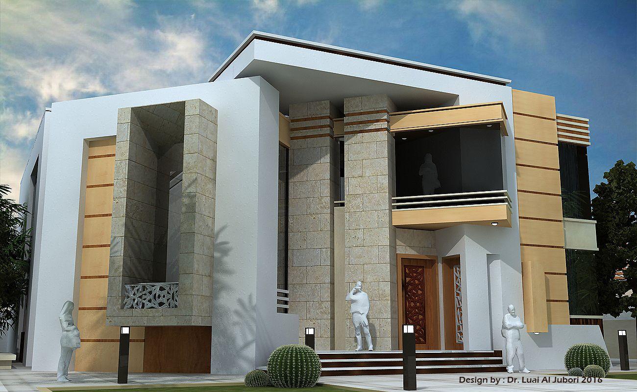 Luai Jubori Architecture Villa Oman 2016 Contemporary Building House Design Modern House Design