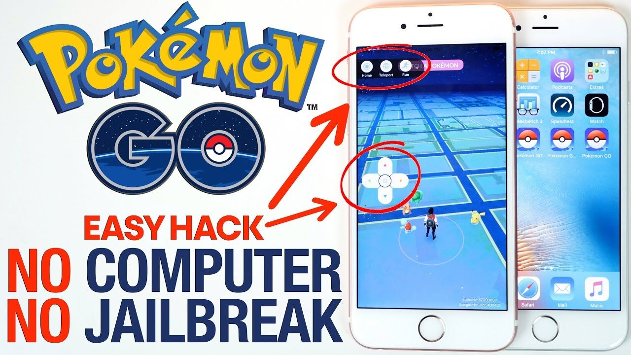 Pokemon GO Hack : Spoofing + Joystick & Teleport *NEW