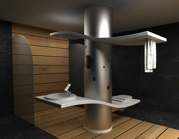 Swan Bath Multifunctional Complex By Ece Cokca