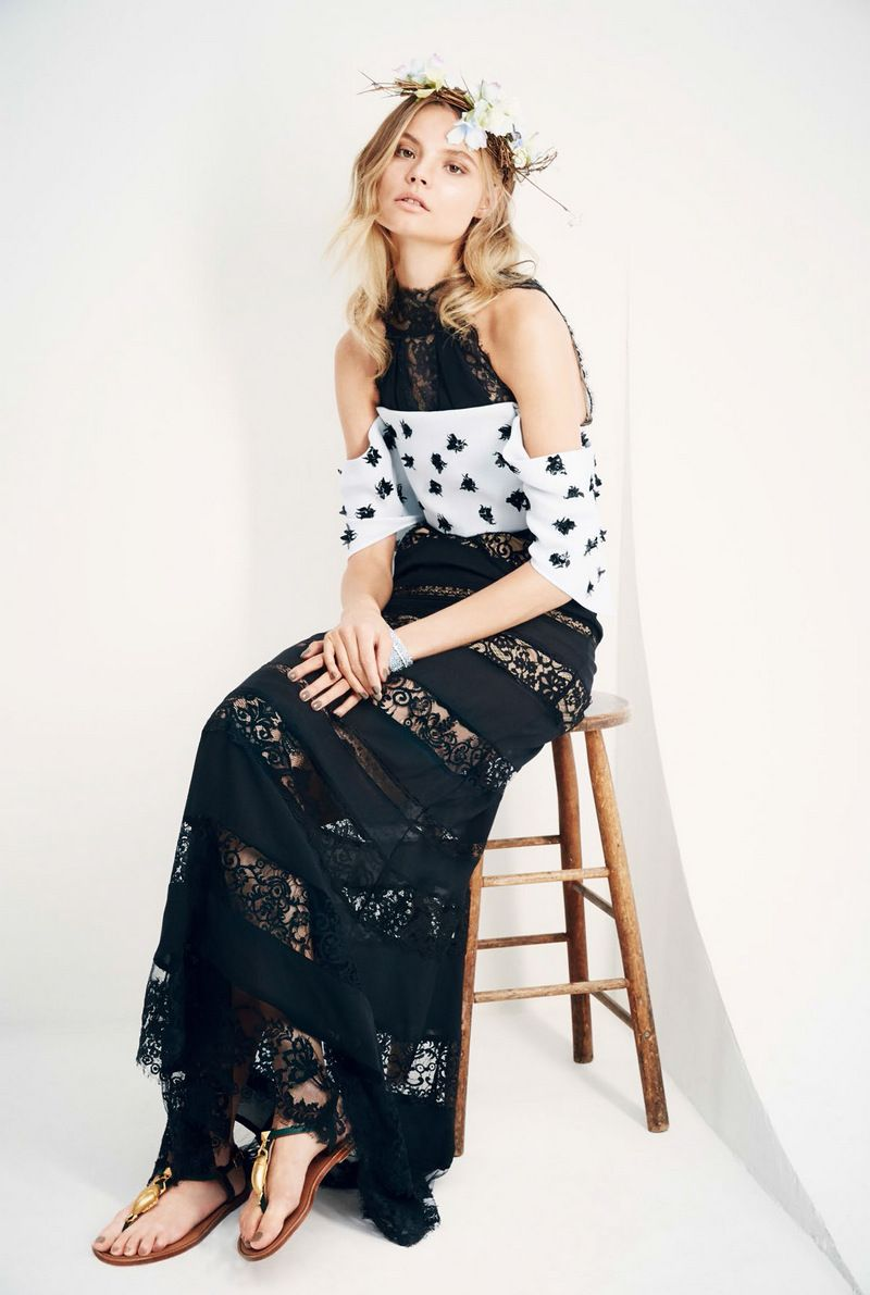 #Polish #modelMagdalena Frackowiack by Patrick Demarchelier for #VogueChina #June2014; Styling by Daniela Paudice