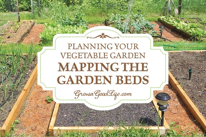 Planning Your Vegetable Garden Mapping The Garden Beds 400 x 300