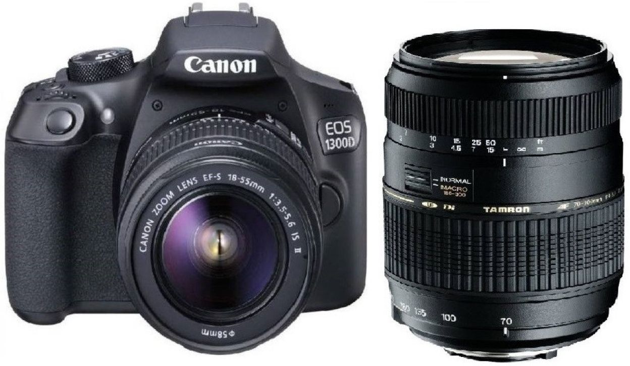 Canon 1300D DSLR Camera (With EF-S18-55mm f/3 5-5 6 IS II