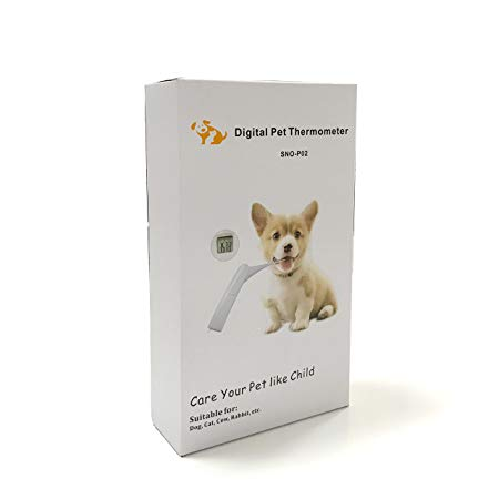 Amazon Com Pet Clinic Thermometer For Dog Cat Rabbit And All