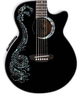 Fauna Dragon Acoustic Guitar
