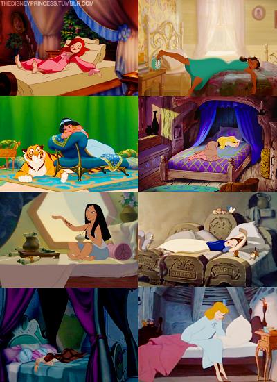 Disney Princesses Bedrooms, i always loved Jasmine's room