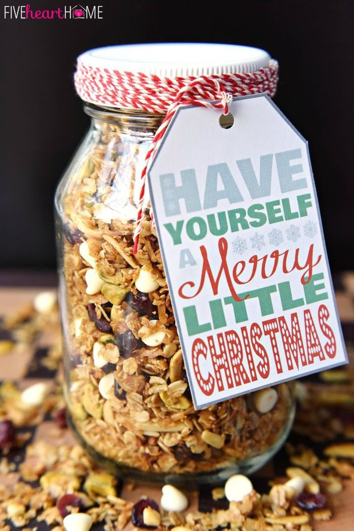 Christmas recipe gifts to make