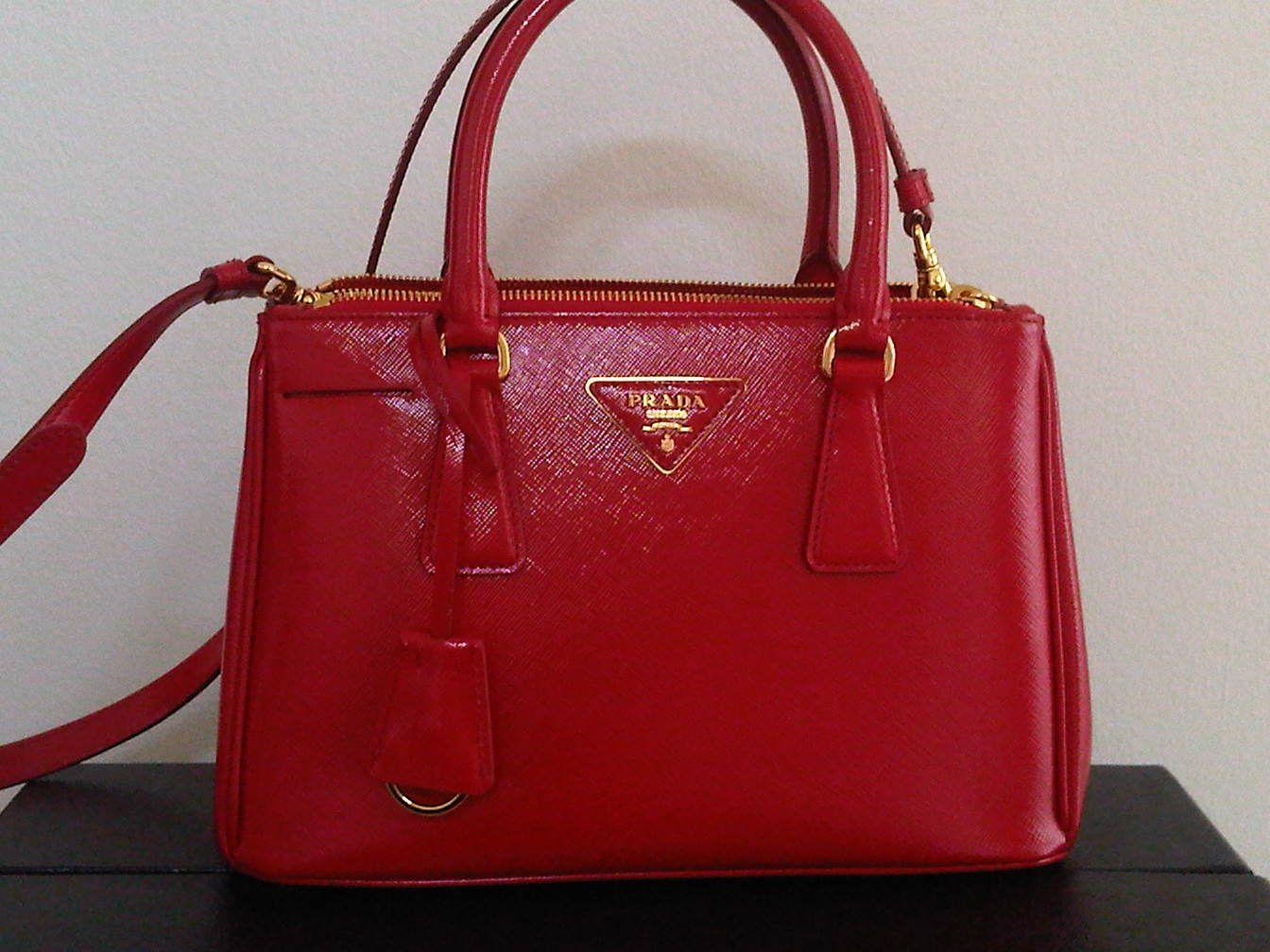 Red Prada Bag