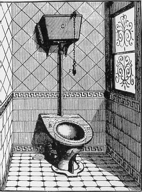 Flushing Toilet From Victorian Age With Images Bathroom