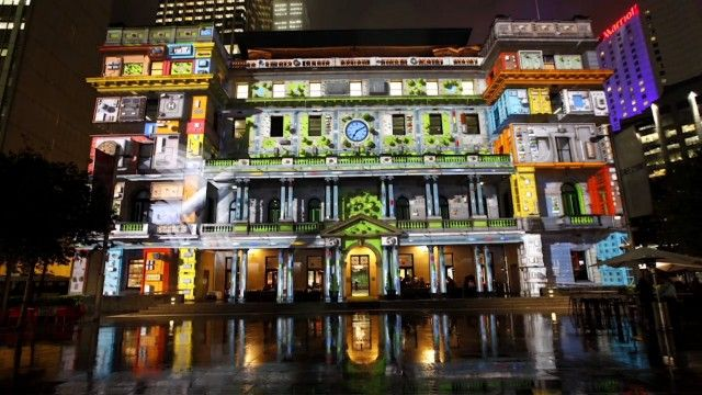 Vivid Sydney 3D Mapping11