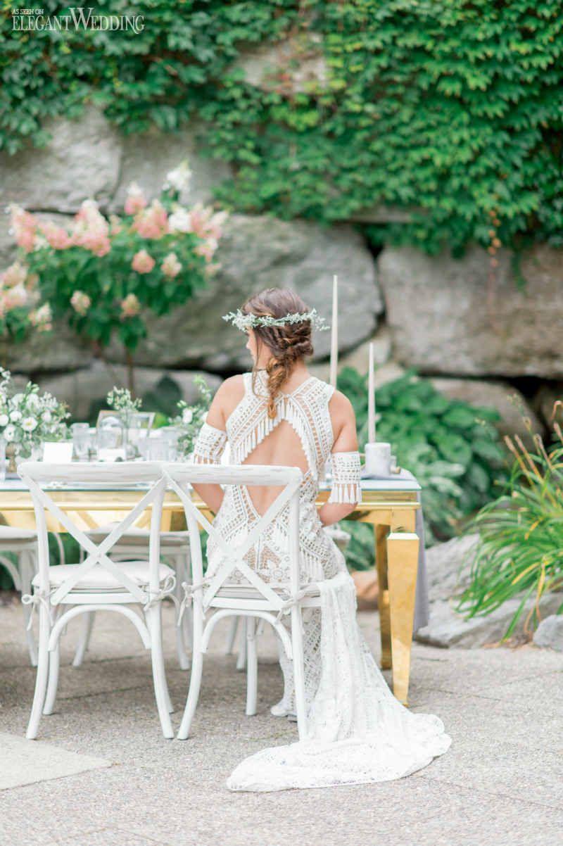 Freespirited bohemian wedding ideas beach wedding ideas