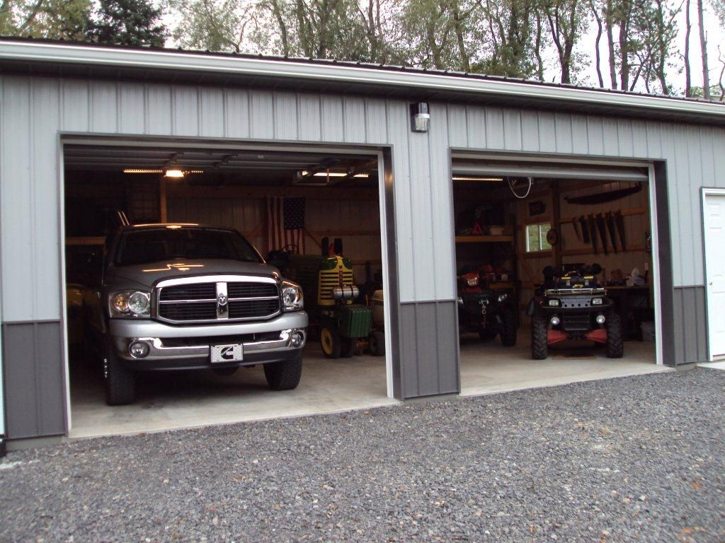 Pole barn garage garage mancave workshop pole barn for 4 car pole barn
