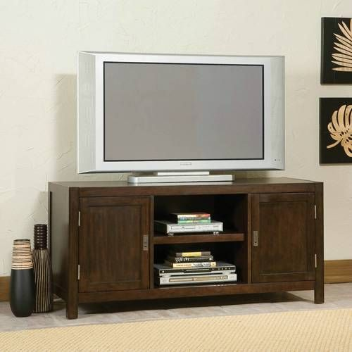 Outstanding City Chic Entertainment Stand With Storage In Espresso Ncnpc Chair Design For Home Ncnpcorg