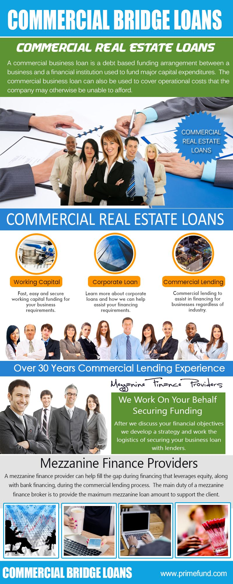 The best component regarding the Commercial Bridge Loans is that they doubt. You don't need to give any kind of type of security for getting this funding. It is a sort of car loan that permits you to draw the cash as much as the credit limit. Any type of organization could have a great deal of settlements that are made on daily basis.