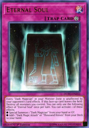 Eternal Soul Yu Gi Oh Wiki Fandom Eternal Soul Dark Magician Cards Yugioh Trap Cards