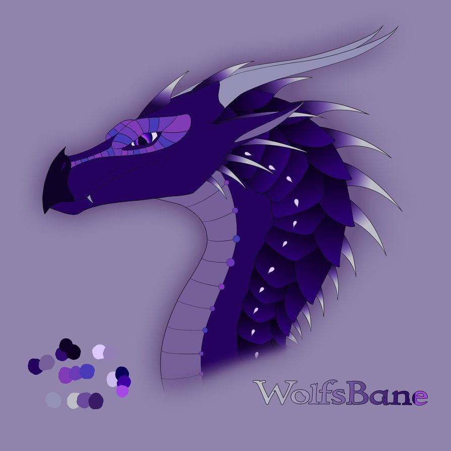 My OC form Wings of Fire Dragon Name: Wolfsbane Male Tribe