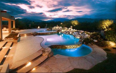 Award-Winning Patio Pools & Spas | pergolas, porches, etc ...