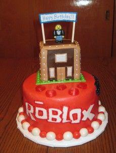 Roblox Cake My Cakes Roblox Cake Birthday Cake