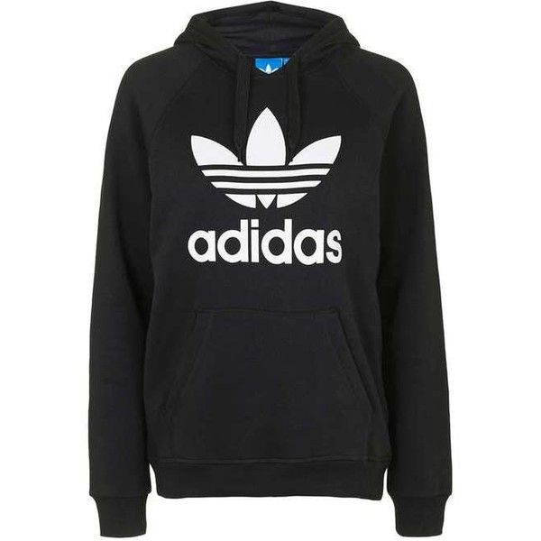 Cropped Hoodie by Adidas Originals found on Polyvore