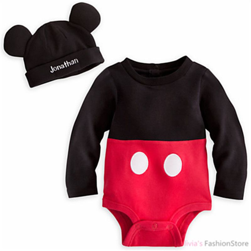 4e6406b43d1 Disney Store Mickey Mouse Baby Costume Outfit    Hat Set Months 0 3 ...