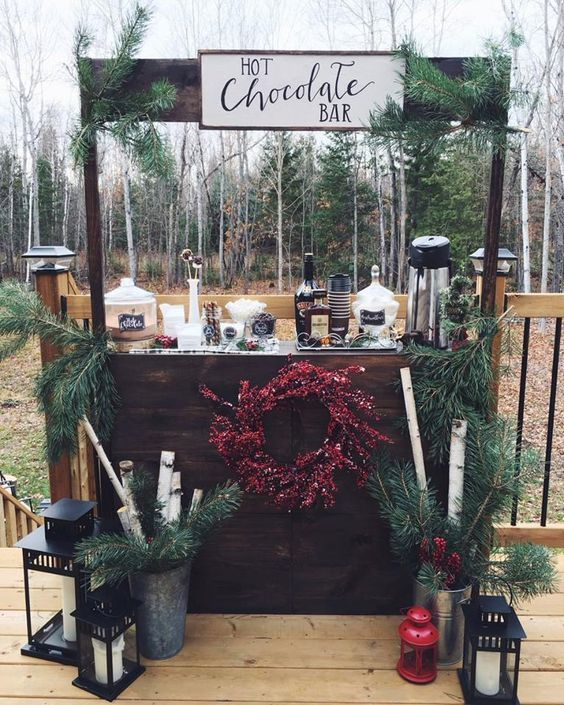 Photo of 27 winter wedding stations and bars you'll love – Modekreativ.com