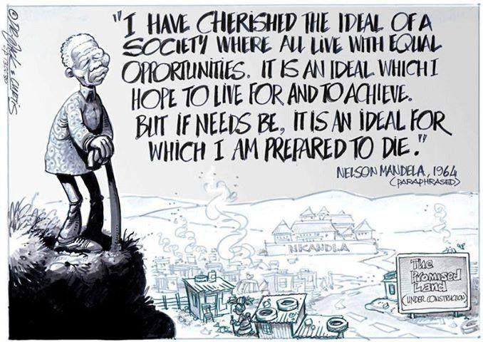 Madiba S Dream Inspirational People History Lesson Mandela He Wa Saddened By The New Paraphrase
