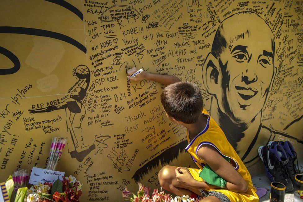 The world of street art pays homage to Kobe Bryant in 2020