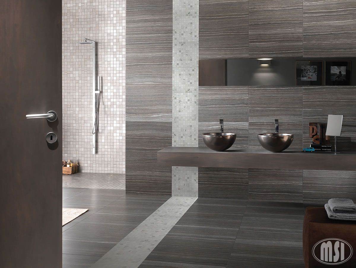 Arabescato carrara 1x1 honed in 12x12 mesh bathroom pinterest eramosa grey wall and floor tiles these tiles are made in italy and very versatile whilst remaining very diverse and on trend dailygadgetfo Image collections