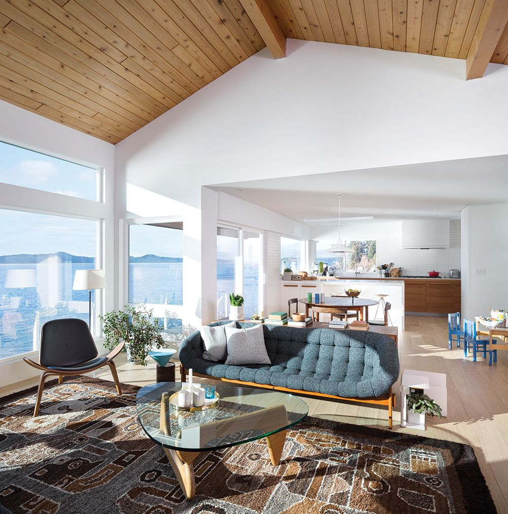 The Edge Apartments Vancouver: We Love This Mid-Century-Modern-Inspired Coastal Cabin