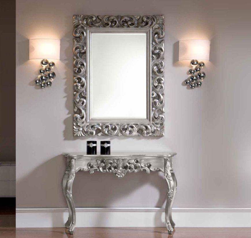 Silver Furniture Small Home Decor - bathroom