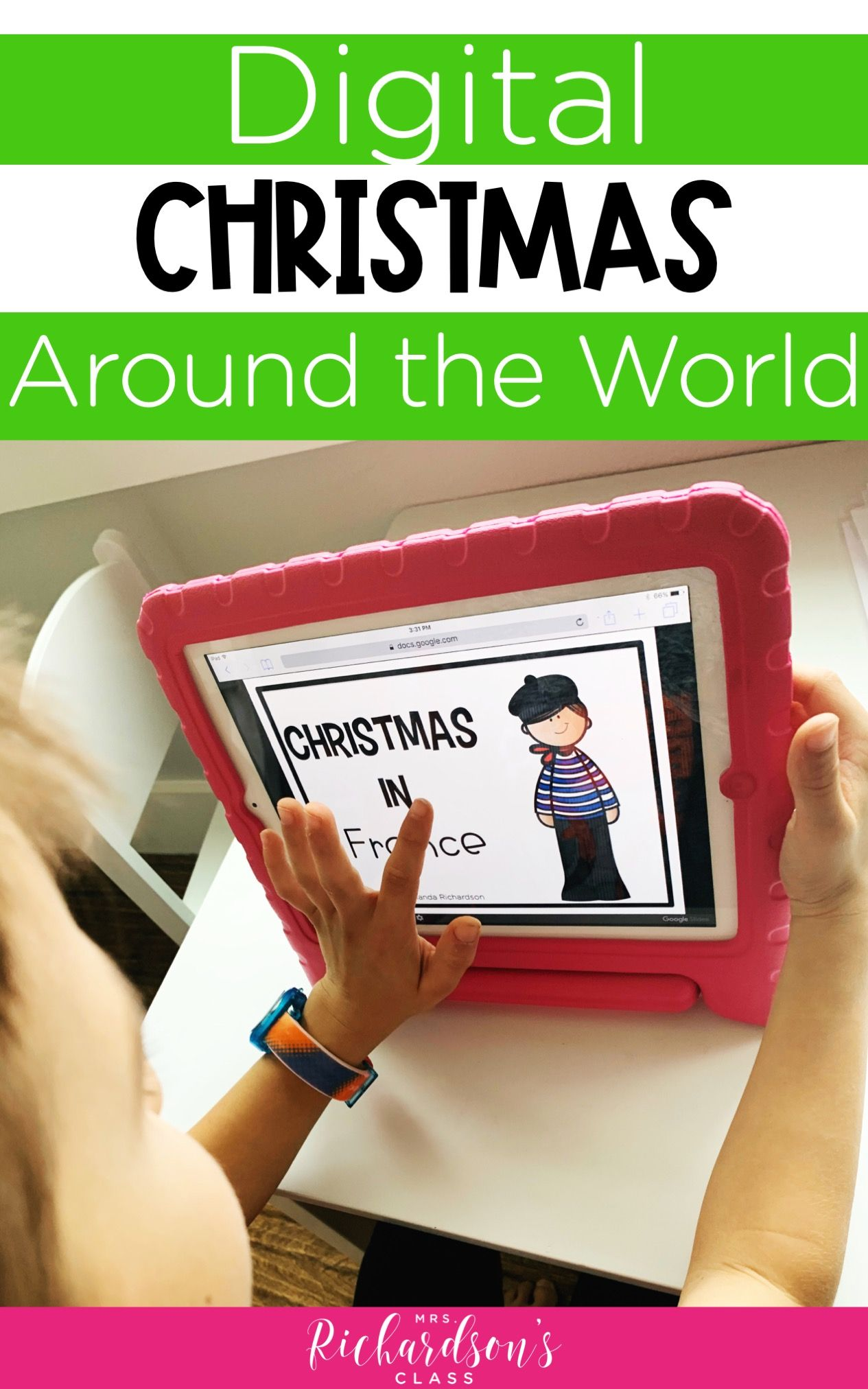 Christmas Around the World Gone Digital Downloadable
