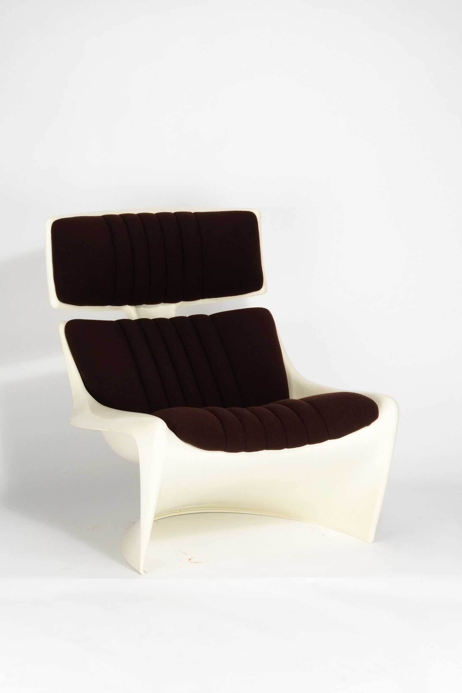Steen Ostergaard; #265 A-Line Chair for Cado, 1970.