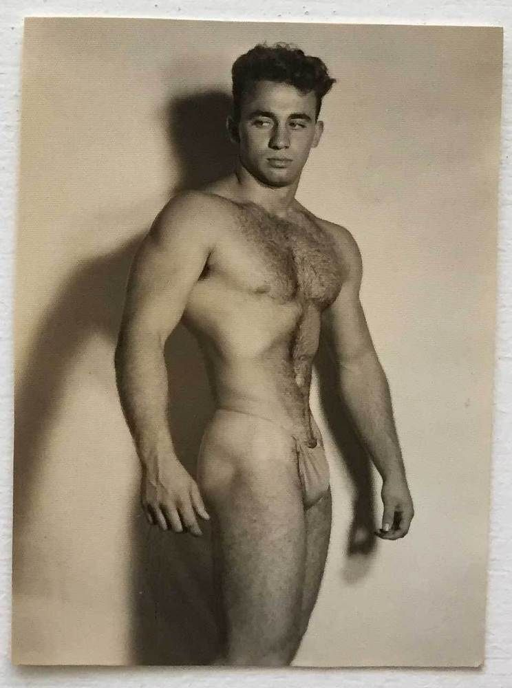 Vintage Male Nude Photo Ron Selvaggio 2 Spectrum -6305