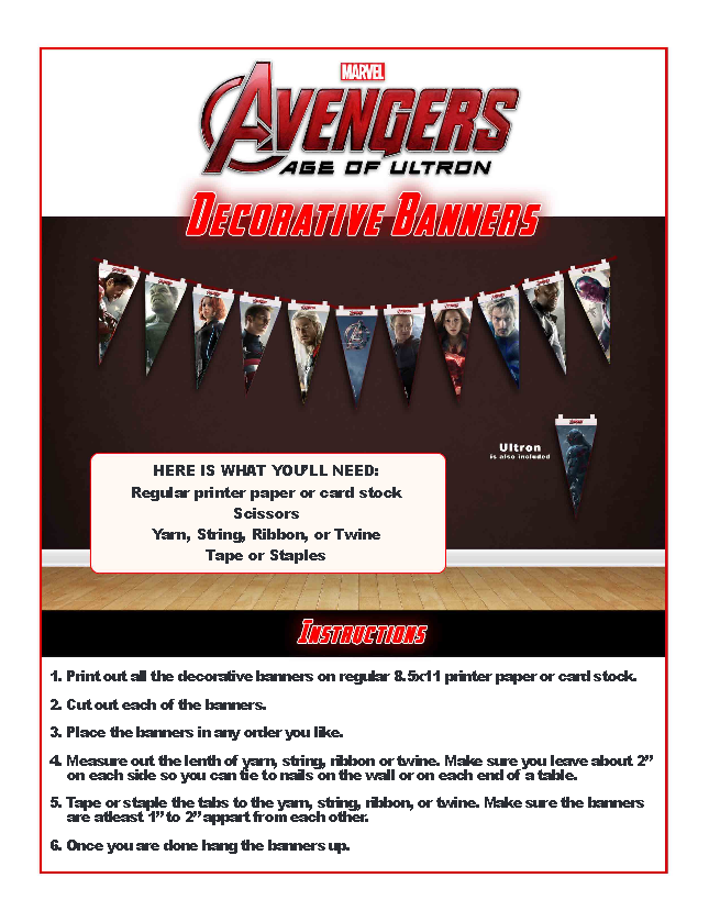 http://www.mrskathyking.com/free-avengers-age-ultron-printable-party-decoration-pack-avengers-ageofultron-avengersevent/