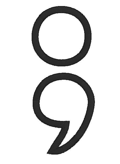 semicolon project APPLIQUE depression support symbol ...