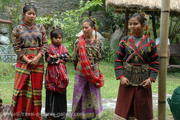 Tboli, Tboli People Traditional Dress  Minority Of -8465