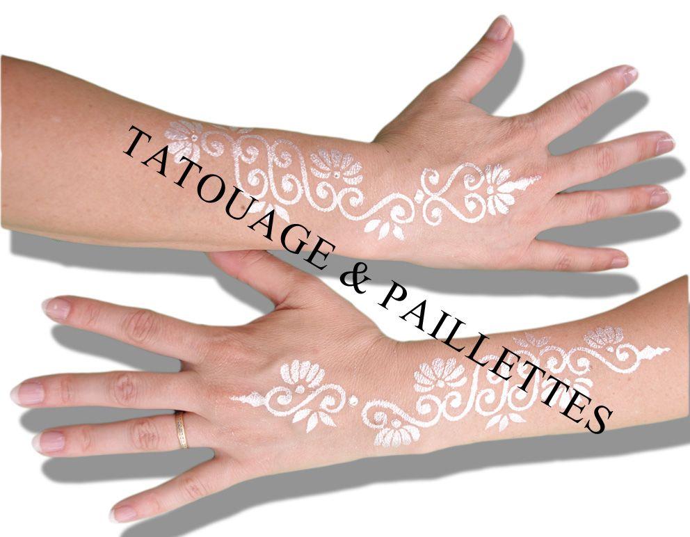 tatouage argent sur les mains pour maraige mari e robe accessoires pinterest tatouage. Black Bedroom Furniture Sets. Home Design Ideas