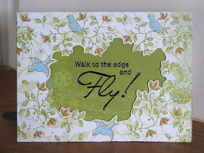 Scrap Savvy Creations: Little Feathered Friends Inspiration Card