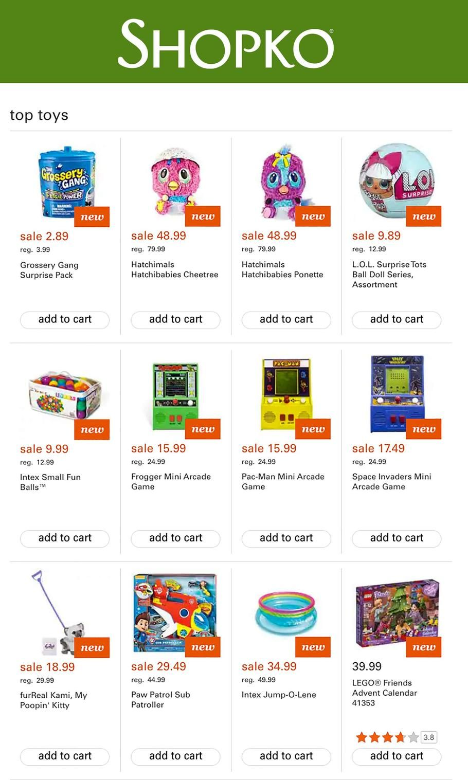 image relating to Shopko Printable Coupons referred to as Shopko Ultimate Toys 2018 Adverts and Bargains Study the Shopko Greatest
