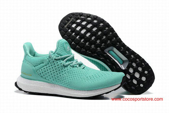 19644e7b119de3 Adidas Ultra Boost Uncaged Hypebe Jade-green White Womens Running Shoes