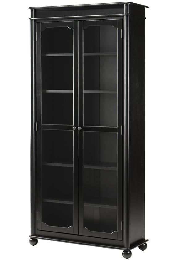 Essex Bookcase With Glass Doors   Glass Door Bookcases   Bookcases    Furniture | HomeDecorators.com For Books Or Clothing Storage (Shoes Or  Folded Sweaters) ...
