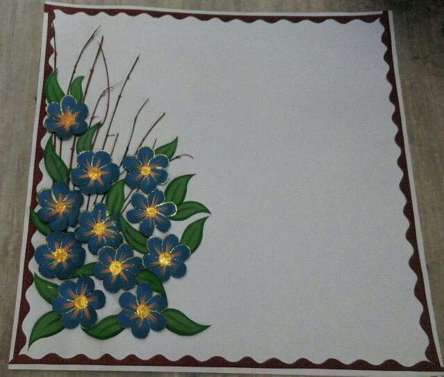Poster of Paper flower