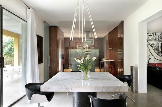 1000 images about table en marbre on pinterest - Salle A Manger En Marbre