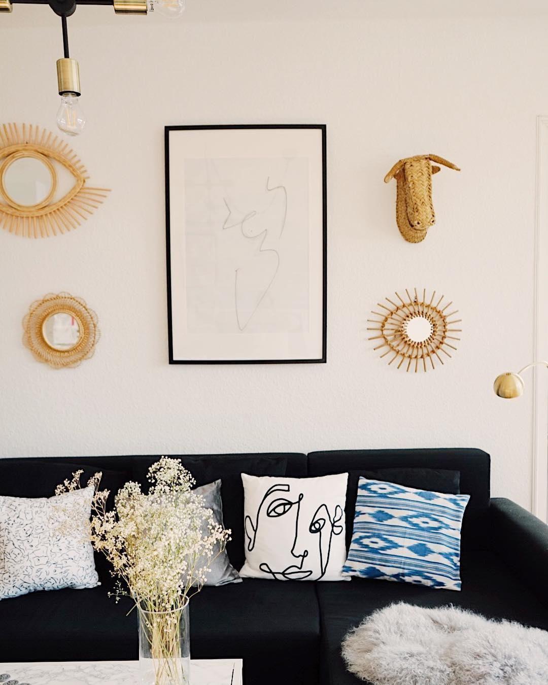 Deko Liebe! In Diesem Wunderschönen Wohnzimmer Stimmt Einfach Jedes Detail.  Ein Kuscheliges Fell